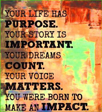 life purpose and passion
